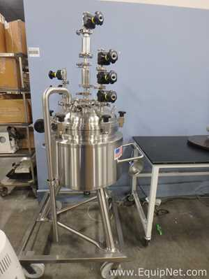 T and C Stainless 50 Liter Stainless Steel Mixing Vessel