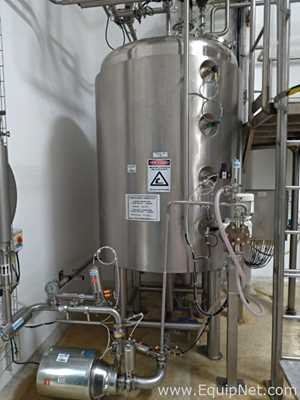 Bionaz Stainless Steel 2000 Liter Jacketed Tank