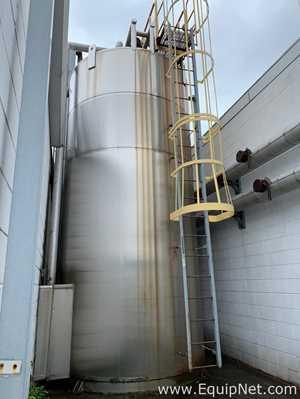 APV Crepaco 6000 Gallon Stainless Steel Silo