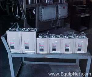 Lot of VFD Control Cabinets