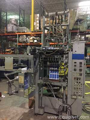 Prodo Pak Four Lane Form Fill Seal Packet Filler