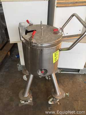 Allegheny Bradford 25L Jacketed Tank Model VE336200