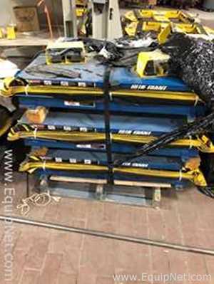 Lot of 8 Blue Giant Single Scissor Pallet Handlers