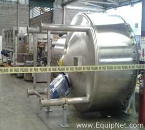 Bram-Cor Stainless Steel Triple Motion Homogenization Tanks