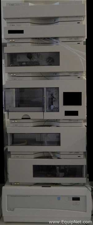 Agilent Technologies 1100 Series HPLC System with VWD
