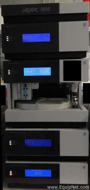Dionex UltiMate 3000 HPLC System with VWD