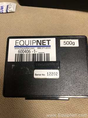 500g WEIGHT WITH PLASTIC CASE Listing #600406