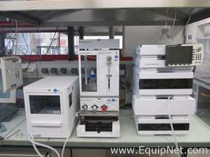 Agilent Technologies 1260 HPLC with VWD and Spark Solvent Delivery System and SPE Autosampler - SPE3