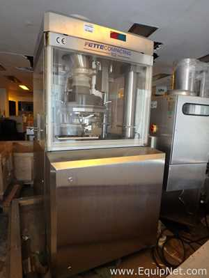 Unused Fette 102i Tablet Press for Galenic Development