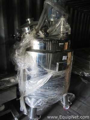 Cemsan 400 Liter 316L Stainless Steel Jacketed Mixing Vessel