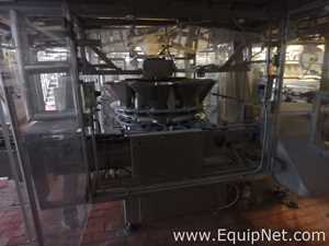 M and P Engineering 18 Position Rotary Transfer Unit - Filler for Cans - Line 95 Right Side