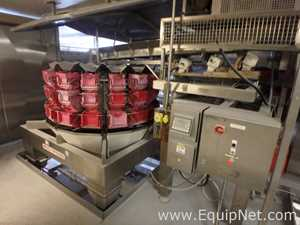 MultiPond 1612D-S5 Sixteen Position Weigh Scale Filler - Line 95 Right side