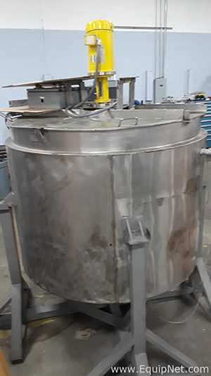 Groen 500 Gallon Kettle with High Speed Dispersion
