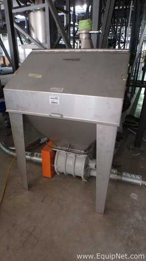 Unused Coperion K Tron 52-07-27-0051 Manual Bag Batching System With Rotary Valves