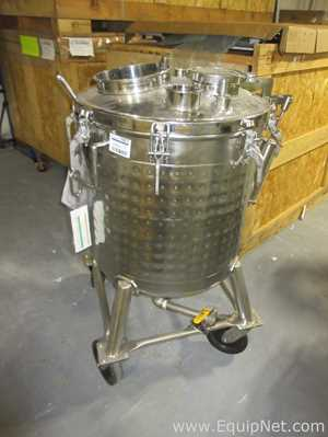 Bulling Metal Works 75 Gallon Stainless Steel Jacketed Tank