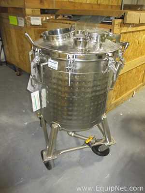 Tanque aço inox Bulling Metal Works Inc  .  75 Galão