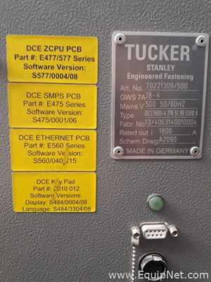 Emhart Teknologies DCE1800 Fuente de Alimentación