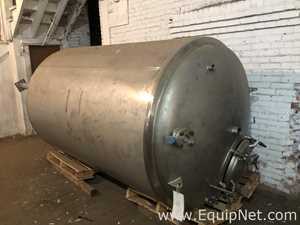 Letsch Approximately 1000 Gallon Stainless Steel Pressure Vessel