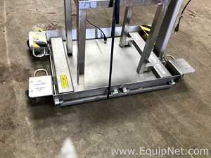 Mettler Toledo 2888 Stainless Steel Floor Platform Scale Capacity 300 Kg