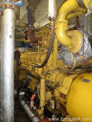 Caterpillar G3516B Combined Heat and Power 1150 KW Electrical Generation Plant 1 Boiler House