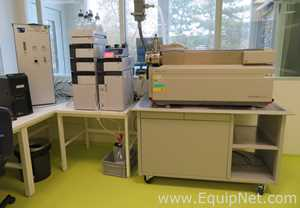 Applied Biosystems MDS Sciex 4000 QTRAP LC-MS-MS Mass Spectrometer