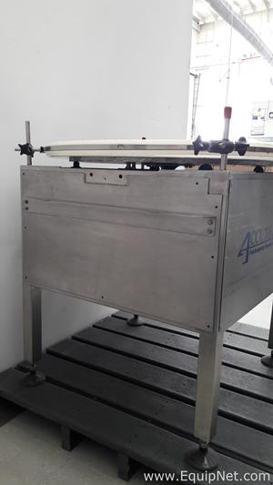 Accutek Packaging Equipment 28-036-AC0-ACC-TT Accumulator - Rotary Table
