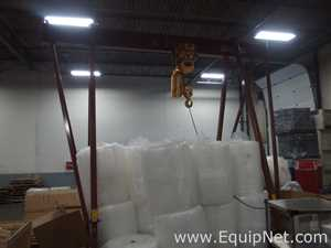 Wallace Products 8 Ton Gantry Crane With 8 Ton A-Frame