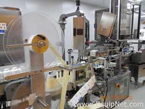 Weiler PVR 1600R Inline Pressure Sensitive Labeler for Pharmaceutical Bottles