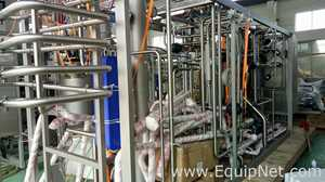 Unused 25000 Liter Per Hour Tetra Pak Pasteurizer For Skim Milk