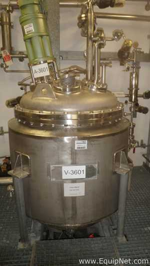 Edel 535 Liters Jacketed Mixing Vessel