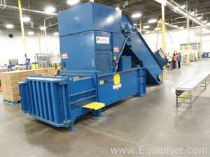 International Baler Corp. Baler with CY-48178 Infeed Elevator