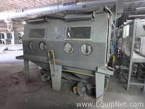 Sand Blast Cleaning Machine With Dust Collector and Ciclon