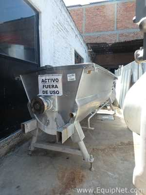 Stainless Steel 1000L Mixer with Heating Jacket