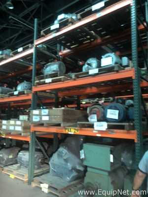 Large Assortment of AC and DC Electric Motors from 0.5 HP to 1500 HP