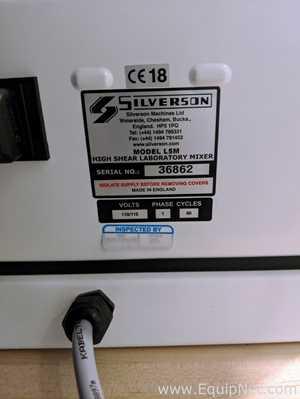 Silverson L5M-A Homogenizer Like New Condition