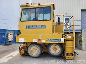 Hercules Trackmobile Railcar and Rolling Stock Mover Rebuilt 2018
