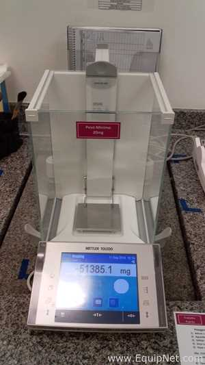 Mettler Toledo XP 205 Analytical Balance with P25 Printer