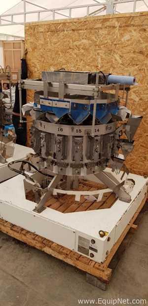 Yamato Dataweigh Omega ADW-516SN WG120677 16 Head Rotary Scale METR0588