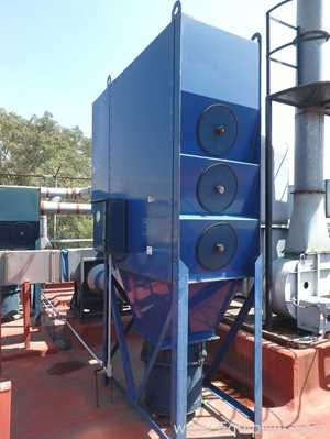 3 Filter Dust Collector with Air Extraction System