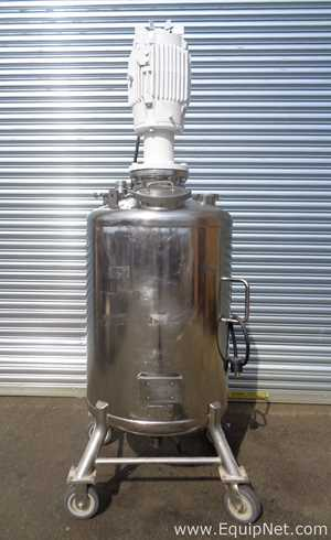 Alloy Products 75 Gallon SS Vacuum tank  Tank - Pressure Vessel With 10 HP XP Homogenizer