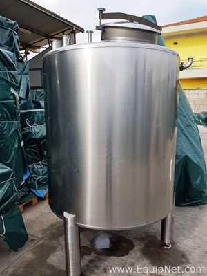 Tanque aço inox STAI  1590 L
