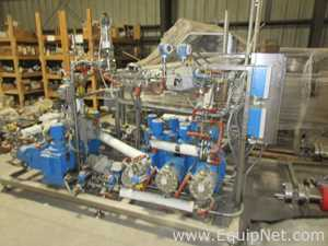 Sonic Corporation Sanitary Stainless Steel Liquid Process Pumping Skid Including Lewa Metering Pumps