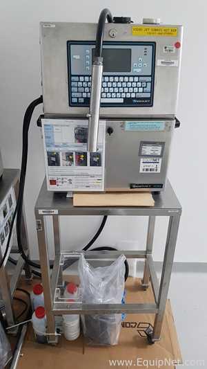 Impresora VideoJet 43s con soporte de acero inoxidable