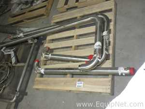 One Skid Of Sanitary Stainless Steel Piping