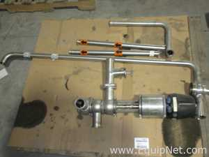 Misc. Sanitary Control Valve And Small Sections Of Piping