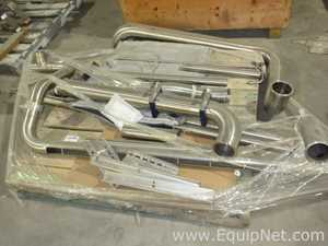 One Lot Of Sanitary Stainless Steel Piping