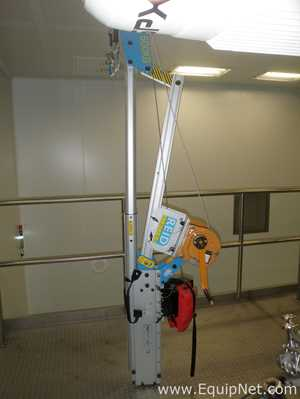 Unused Reid Lifting PDQ1W Swivelling Manual 600 Kgs SWL Parts Hoist with Height Extension Pole