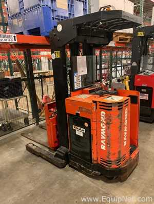 Raymond  21i-DR30TT Stand Up Reach Electric Fork Lift Truck - 824