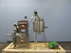 Pall Corporation CM500S TTF System with 17L Allegheny Bradford Jacketed Mixing Tank