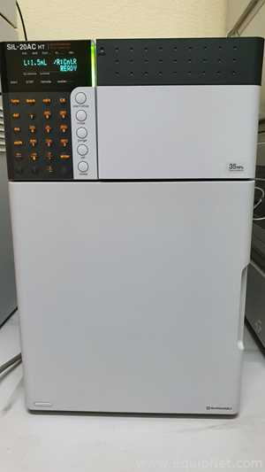 Sistema HPLC Sh Thermostated Autosampler Sil AC20 HT